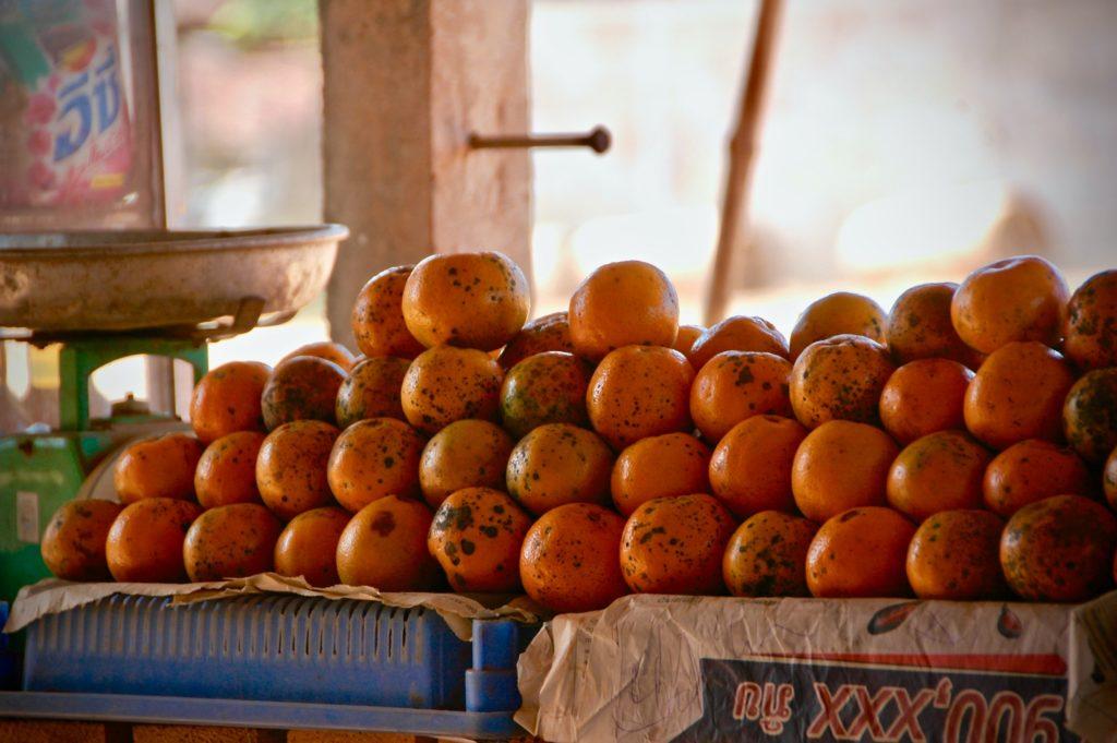 The smell of mandarin influences aircraft comfort